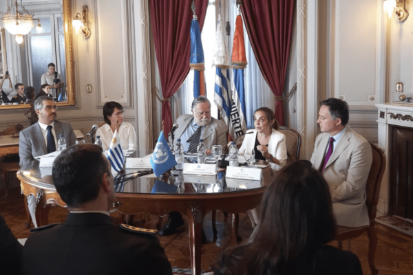 Uruguayische Militärakte zum Schutz von Kindern
