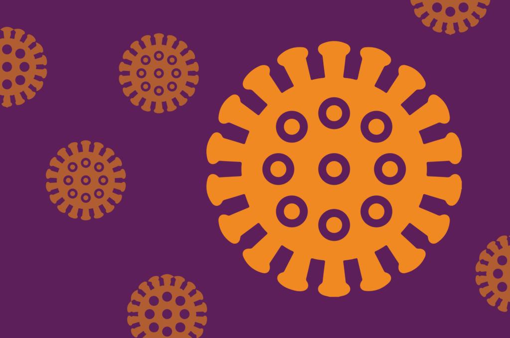 Coronavirus COVID-19 icon
