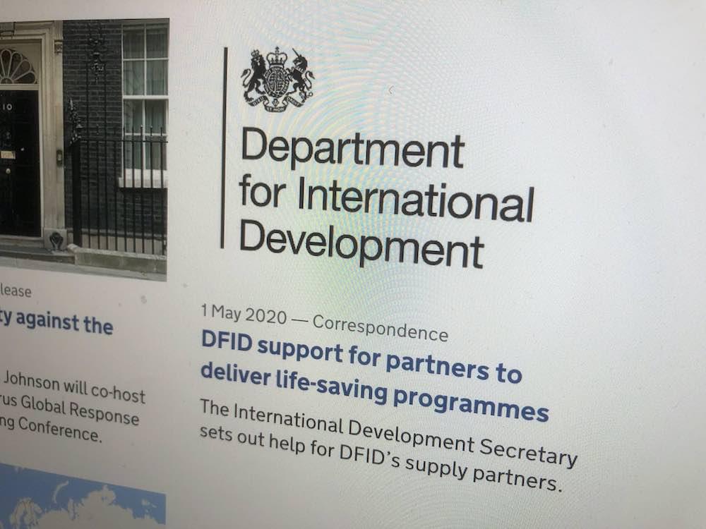 Logotipo DFID