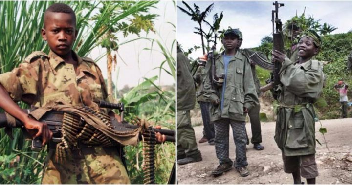 Child soldiers in Eastern DRC